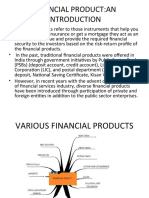 Financial Product