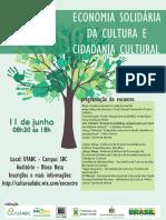 Folder - Economia Solidária da Cultura 2015