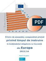 IT Comparative Analysis RO 2013 14