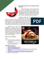 Zark's Burger Case