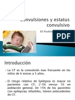 Convulsiones y Estatus Convulsivo