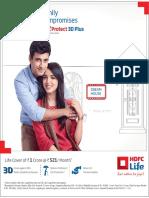 HDFC Life Click 2 Protect 3D Plus_Brochure