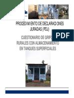 Grifos Rurales Con Almacenamiento en Tanques Superficiales - 2009