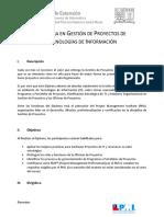 Diploma en Gestión de Proyectos TI v2017
