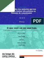 01 - Slides Webinario (Fórmula de Anúncios)