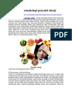 Terapi Non Farmakologi Penyakit Alergi