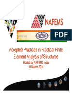 Accepted Fe Practices Nafems India