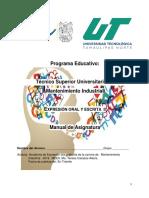 Manual de Practicas Expresion Oral y Escrita II Sep-dic 2018