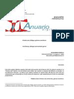 Historia oral, diálogo y géneros narrativos - Alessandro Portelli