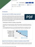 ECDIS Mandatory ECDIS Marine Equipment for Merchant Marine FURUNO