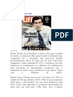 Bobby Fischer Vida e Fotos
