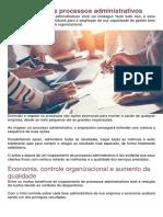 Dicas - Mapeamento de Processos Administrativos