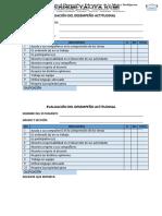 Lista Evaluación Actitudinal 2018