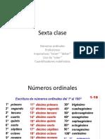 clase de español 6