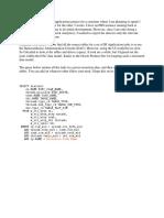 DAC Data Model