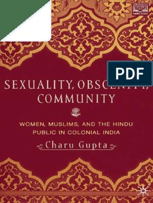 Comparative Feminist Studies) Charu Gupta (Auth )-Sexuality