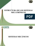 Presentacion Estructuras de Los Sistemas Mecatronicos Ver Clases