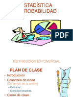 CLASE - Distribución Exponencial
