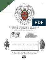 01 PROGRAMA de La Asignatura H Militar UCM