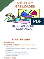 CLASE - Intervalos de Confianza