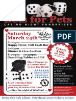 March Fundraiser