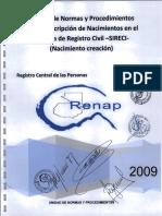6 Manual Inscripcion Nacimiento Creacion 2009