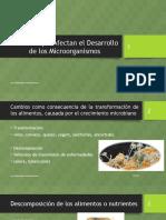 Factores que Afectan el Desarrollo de los Microorganismos.pptx