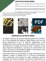 Minerales en Las Rocas Igneas