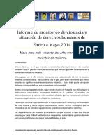 Gam Informe DDHH Mayo 2014 - Guatemala