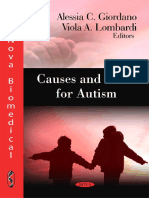 Causes & Risks of Autism,