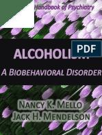 Alcoholism a Behavioral Di Mello Jack h Mendelson