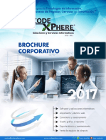 Brochure Corporativo 2017 - Codexphere Corporation SAC