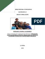 Propuesta Tecnica Economica Proyecto Cedif