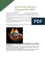 Cómo Realizar Una Revisión Por La Dirección Eficaz Según ISO