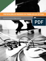 Prevencion de Riesgos en Trabajos de Oficina
