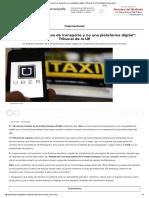 Uber Es Empresa de Transporte y No Plataforma Digital_Tribunal de La UE