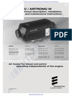 Eberspacher Airtronic D2 Technical Manual