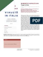 12 Scheda Viaggio in Italia