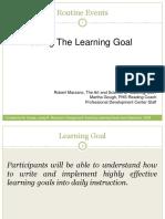 Learning Goals Jan