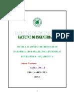 Guia de Matemática I (2018-0)