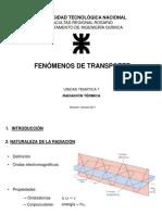 Unidad Temática 7 - Radiación Térmica