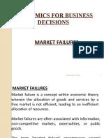 Market Failures!!!