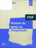 História da Igreja na Antiguidade Por MONDONI- Danilo.pdf