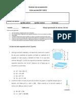 Examen Rec 3º