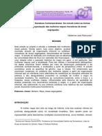 A Resistência Das Dandaras Contemporâneas Um Estudo Sobre as Formas Informais de Organização Das Mulheres Negras Moradoras de Áreas Segregadas