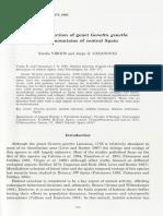Genetta Genetta Habitat Selection Mountais of Central Spain