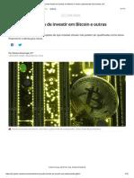 CVM Proíbe Fundos de Investir Em Bitcoin e Outras Criptomoedas _ Economia _ G1