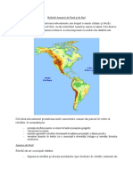 Relieful Americii de Nord Și de Sud