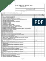 Lista de Chequeo Conductor ambulancias
