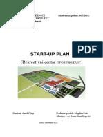 Start-up plan - Menadžment